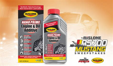 Powernation Mustang Giveaway - rislone rs700 mustang sweepstakes win the rislone mustang 5 0