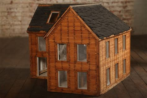wooden doll house for sale vintage wooden doll house wood architectural model for