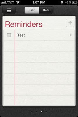 how to configure location based reminders on the iphone