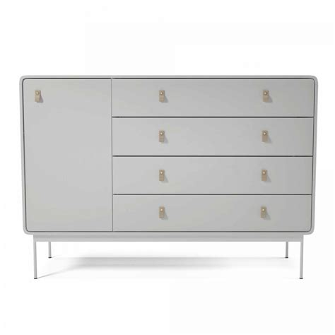 Commode En Cuir by Commode L Blanc Cuir Bolia
