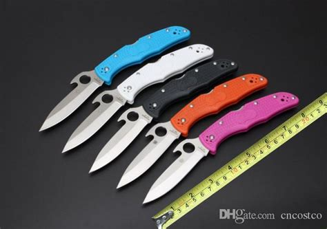 spyderco delica 4 colors spyderco endura 4 knife delica 4 8cr18mov steel frn folder