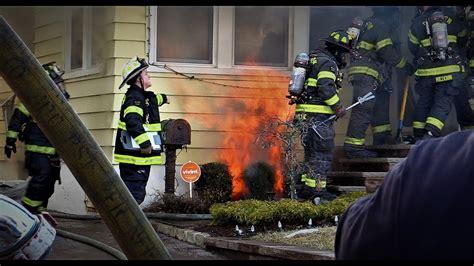 paterson nj fire department  alarm fire  richmond ave
