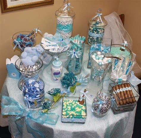 Blue Candies For Baby Shower by 33 Blue Theme Table Ideas Table Decorating Ideas