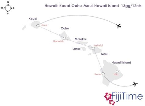 voli interni hawaii isole hawaii 13gg 12nts