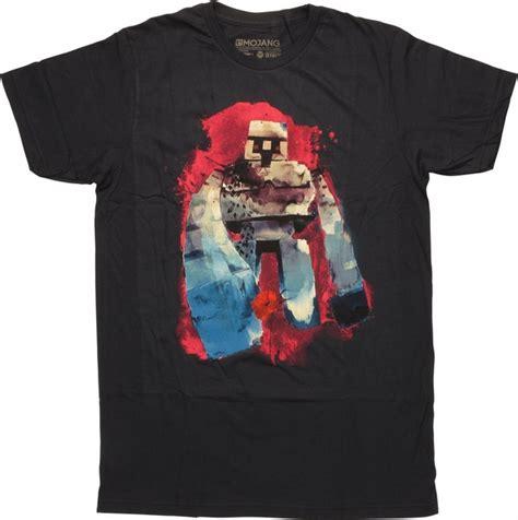Golem On T Shirt minecraft iron golem t shirt