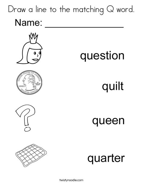 colors that start with q coloring pages letter q az coloring pages