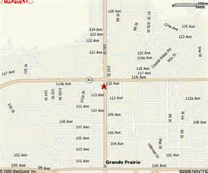 map of grand prairie grande prairie alberta details www popeyescanada