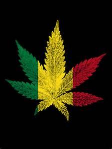 quot rastafari cannabis leaf quot by bela manson redbubble