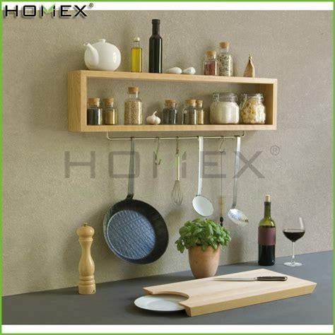 Houten Plank Keuken by Houten Kruidenrek Keuken Spice Plank Homex Bsci Opslag