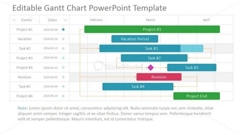 project timeline template powerpoint powerpoint timeline for projects slidemodel