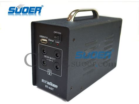 suoer 12v 7ah portable solar power generator for home use