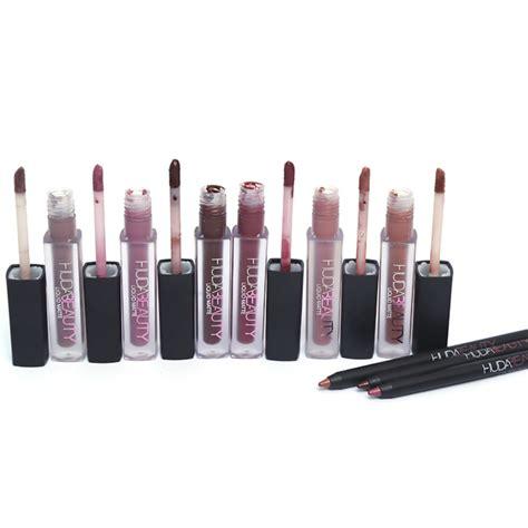 Lipgloss Pac huda lip gloss lip contour set pack of 3 dealistan