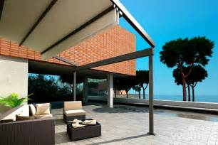 Terrace Awnings Weinor Pergotex Adjustable Folding Roof System Samson