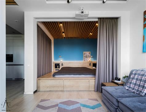 small apartments       space