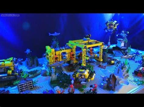 lego boat deep sea lego city 2015 deep sea exploration sets together youtube