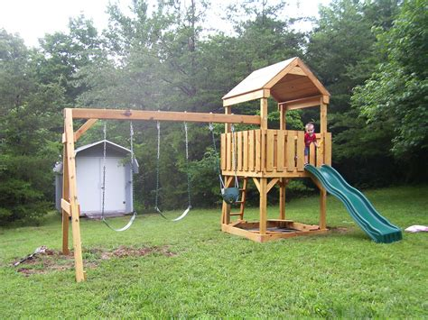 best backyard playsets exterior oak wood backyard playsets with swing sets and
