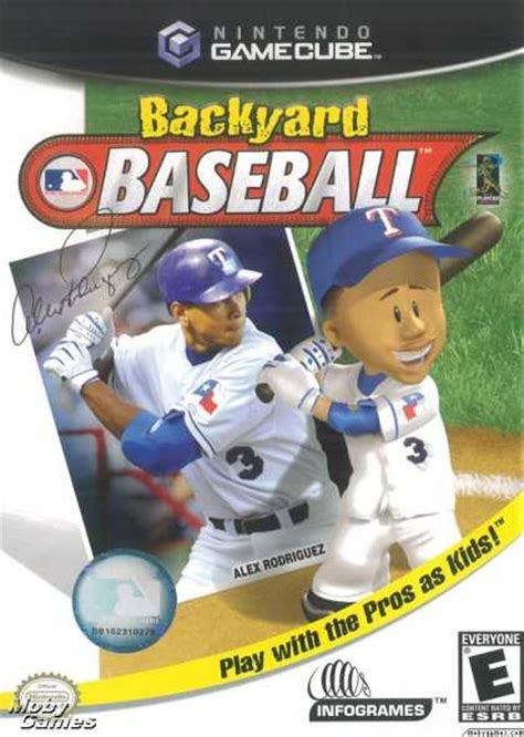 Backyard Baseball Browser Gamecube Covers