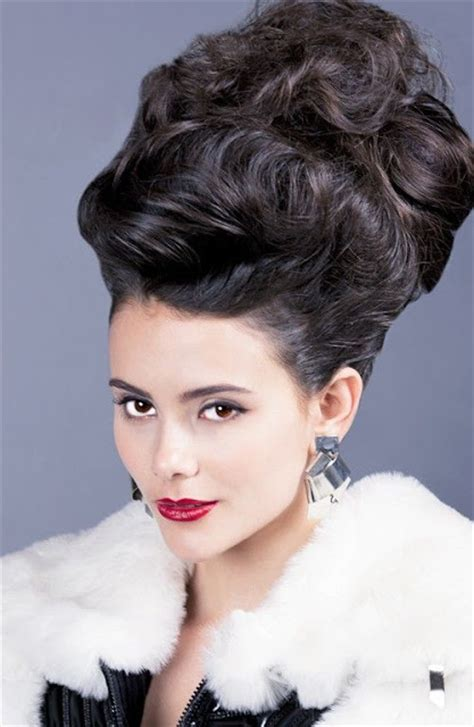 bouffant hairstyle awesome bouffant hairstyles the haircut web