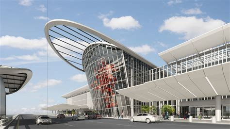 architect and building news report on airport building orlando airport plans for a new terminal already face cost