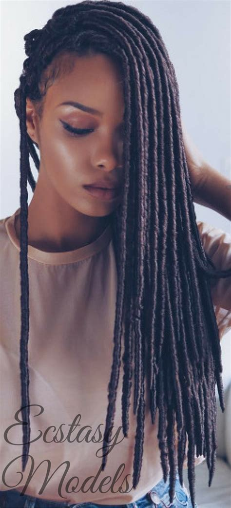 protective styl for dreads pics beautiful braids by umonahair model olaj arel