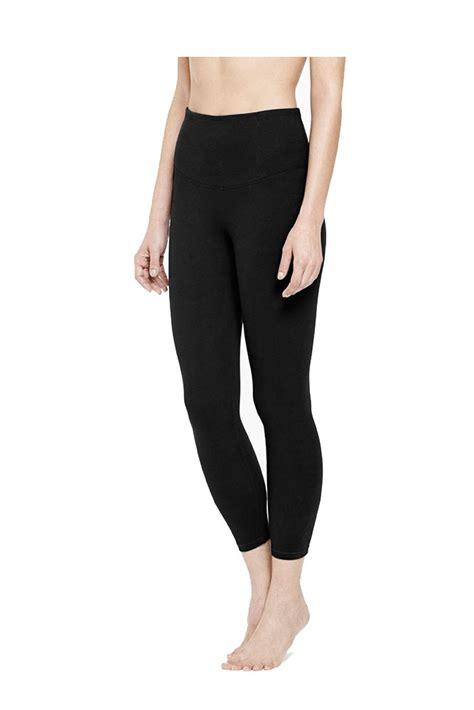 Gloria Legging yummie gloria skimmer cotton legging in black by
