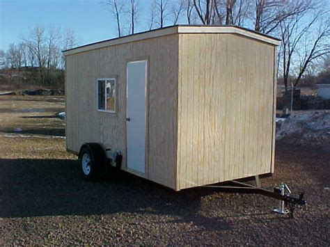 wheeled fish house plans see what our plans will build you fish house plans and building supplies