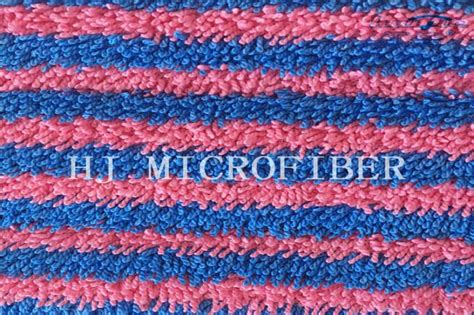 Proven Cotton Mop Replacement and blue stripe yarn dyed microfiber twisted fabric