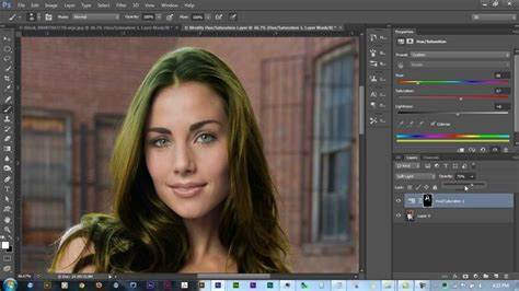 How To Change Hairstyle In Photoshop Cs6 by How To Change Hair Color In Photoshop Cs6 How To Change