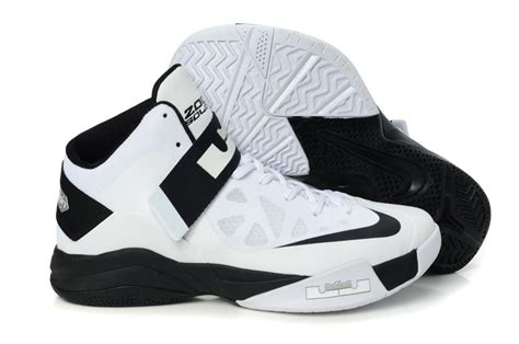 nike zoom lebron soldier 6 white black for sale