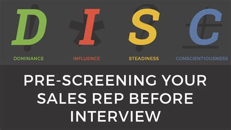 pre screening your sales rep before wasting time on interviewing