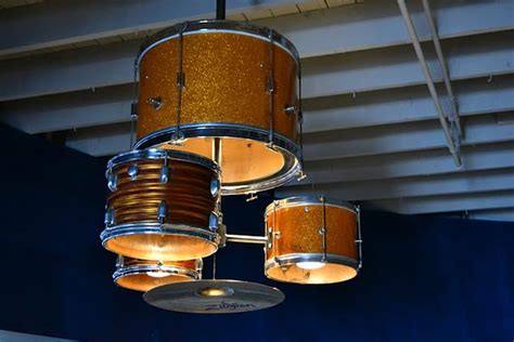 Diy Chandelier Kit Diy Drum Kit Chandelier Bored Panda