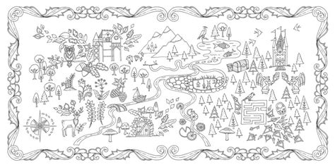 secret garden coloring book new york times enchanted forest an inky quest coloring book ohfriday