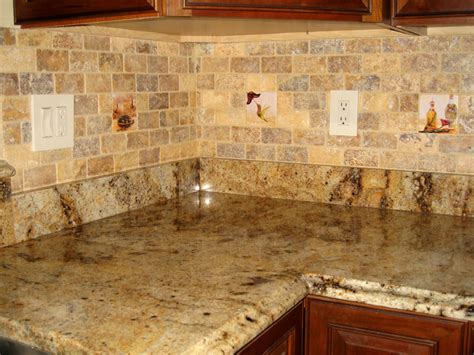 rustic tile backsplash kitchen design ideas kitchen