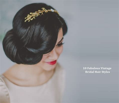 Vintage Wedding Hair by 1920s Hairstyles Hair Newhairstylesformen2014