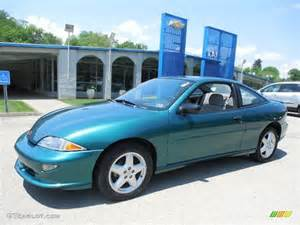 1997 bright aqua metallic chevrolet cavalier z24 coupe