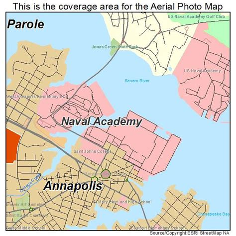 map us naval academy aerial photography map of naval academy md maryland