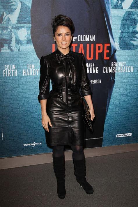 Salma Dress Grey salma hayek at tinker tailor soldier premiere in 06 gotceleb