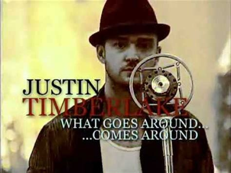 What Goes With What justin timberlake what goes around comes around fl