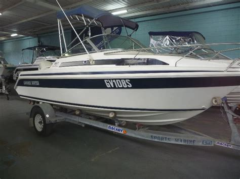savage mako boats for sale savage mako 55 sp half cabin boats trucks earthmoving