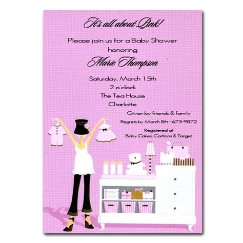 Hat Diva With Baby Changing Table Pink Shower Invitations Clearance Changing Table