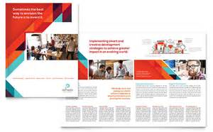 microsoft templates brochure application software developer brochure template word