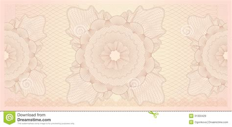 design background voucher gift certificate voucher template pattern royalty free