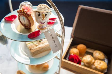 themed afternoon tea london beauty and the beast themed afternoon tea in london is