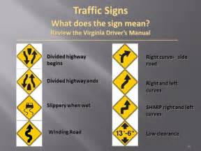 What Does Sectioned by Traffic Controls Lesson 1 Understanding Traffic Signs And