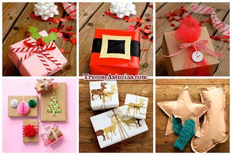 como decorar mis regalos 30 ideas originales para envolver regalos de navidad