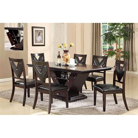 7pc dining room sets chaucer 7pc dining set