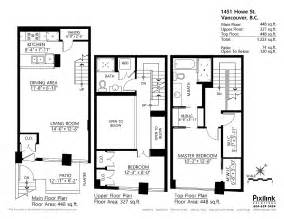 townhouse floor plans with loft two story townhouse floor