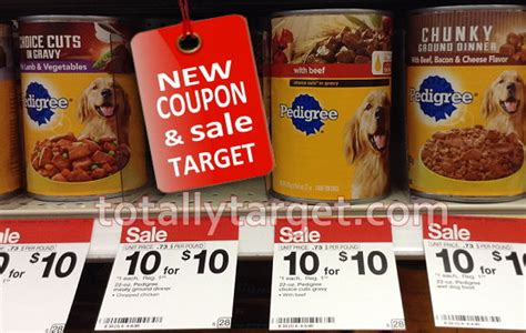 pedigree food coupons new pedigree food coupons target deals totallytarget