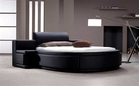 modern bed furniture aiden black round bed modern bedroom furniture
