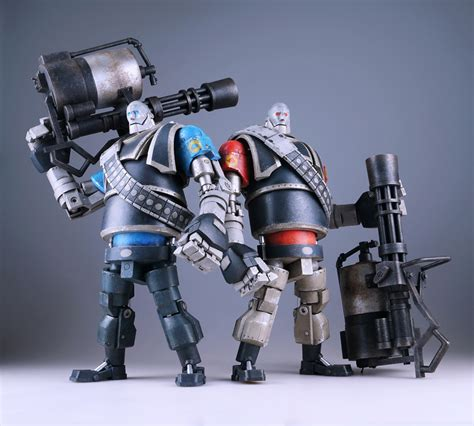 Threea 3a Severed Robot 12 threea s tf2 robot heavy now up for pre orders